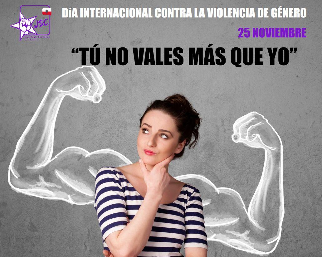 DÍA INTERNACIONAL CONTRA LA VIOLENCIA DE GÉNERO: