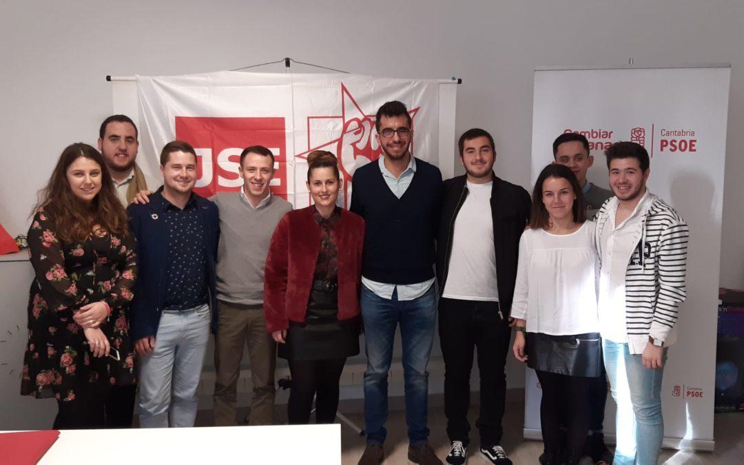Juventudes Socialistas de Cantabria abre una nueva agrupación en Cartes