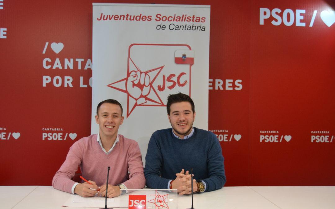 LAS JUVENTUDES SOCIALISTAS DE CANTABRIA SE ERIGEN COMO DEFENSORES DE LA CONSTITUCIÓN Y COMO GARANTES DE SU REFORMA