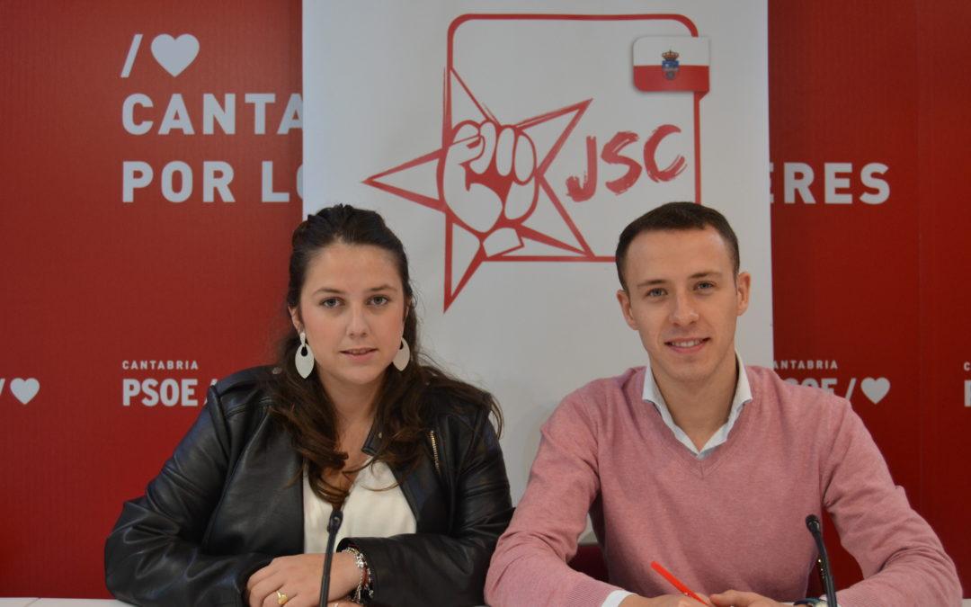 Las Juventudes Socialistas de Cantabria animan a leer para ser libres